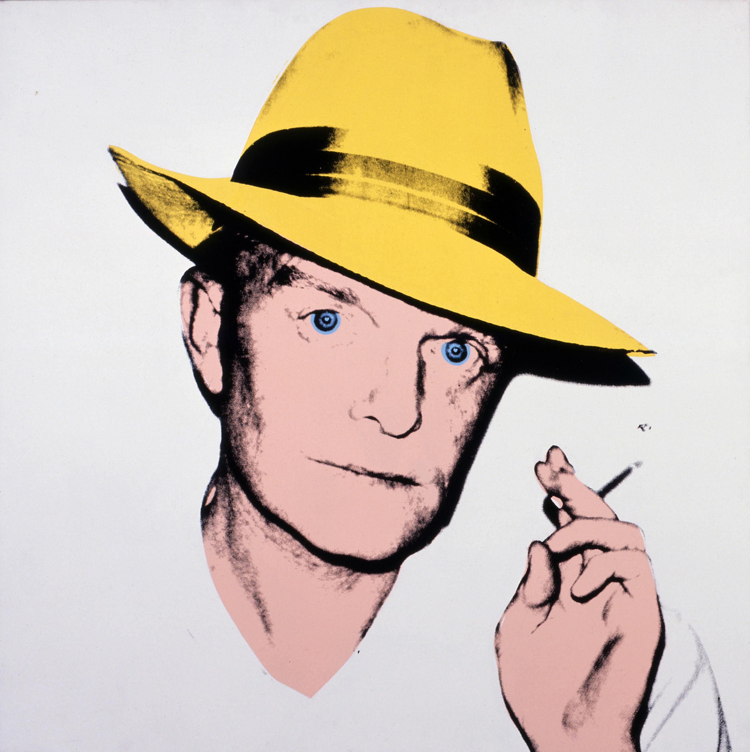 Andy Warhol, Truman Capote, 1979, acrylic and silkscreen ink on linen, 40 x 40 in., Collection of The Andy Warhol Museum, Pittsburgh, © 2016 The Andy Warhol Foundation for the Visual Arts, Inc. / Artists Rights Society (ARS), New York