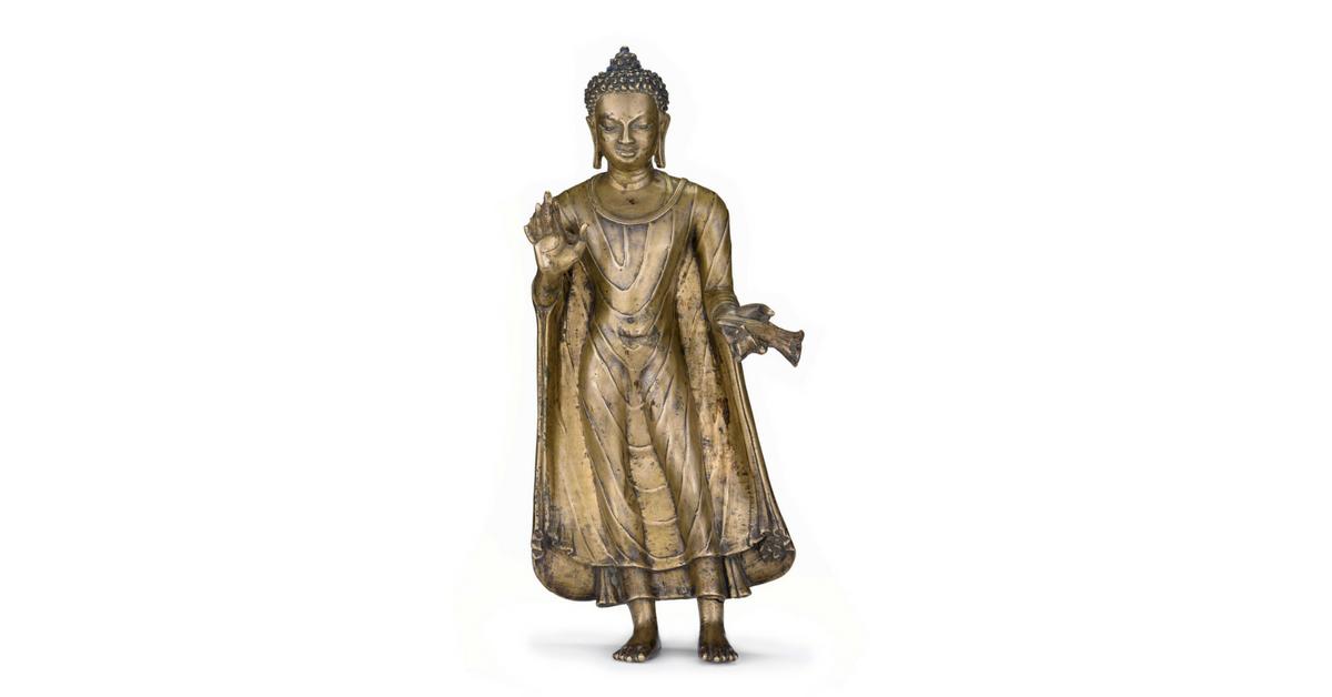 Buddha Shakyamuni, India, Uttar Pradesh, late 6th century