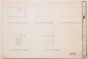 """blueprint of """"cramer chapel's"""" thick tilt-up panels"""