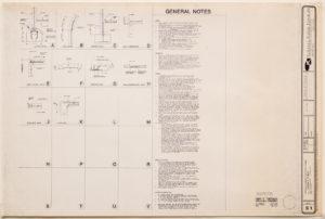 """Blueprint of """"Cramer chapel"""" - general project notes"""