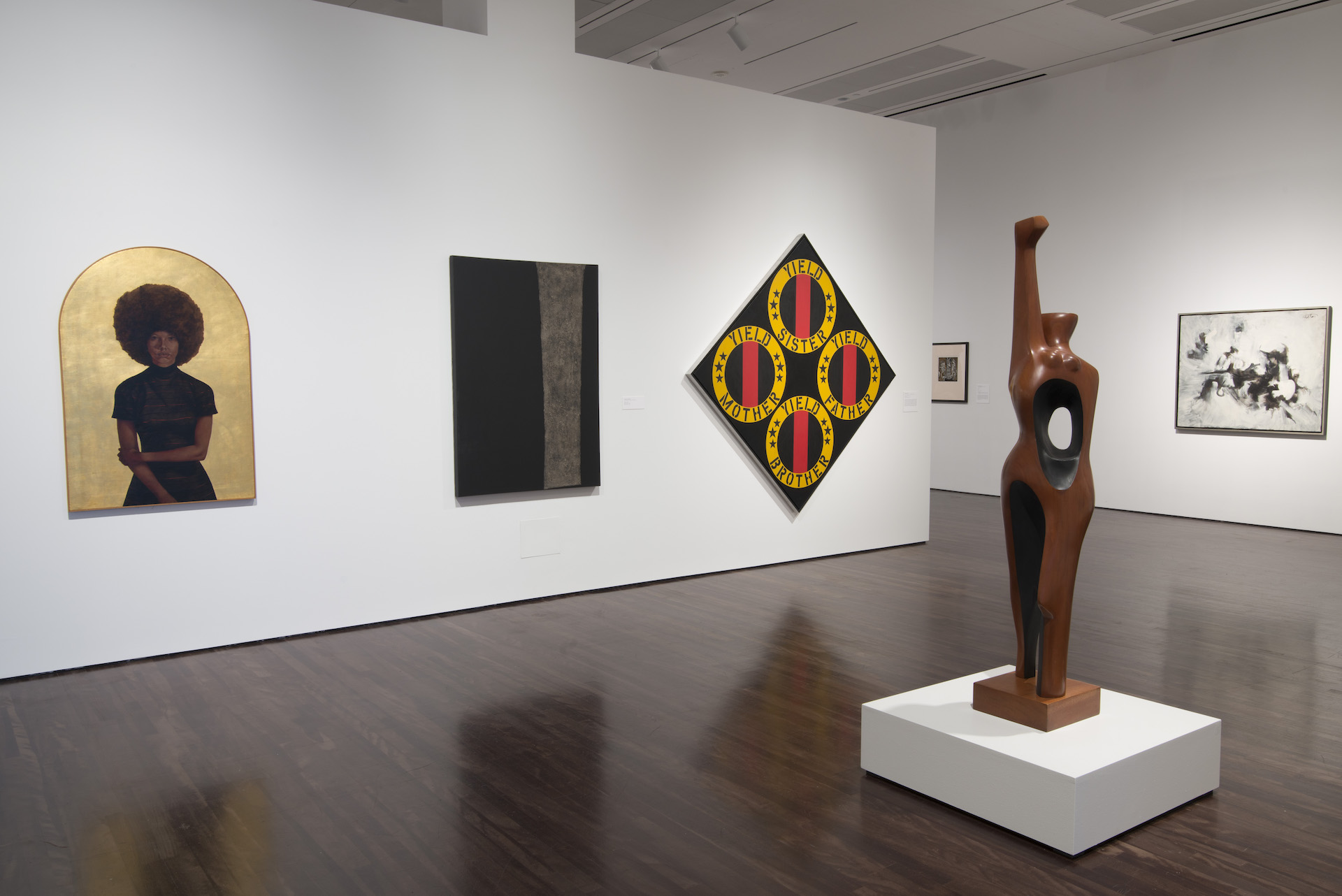"""Installation view of """"Witness: Art and Civil Rights in the Sixties"""" at theBlanton Museum of Art, The University of Texas at Austin, February 15–May 10, 2015. Photo by Milli Appelgren."""