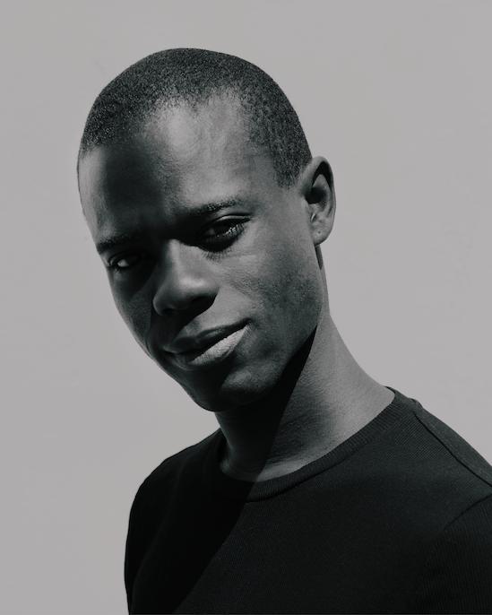 Headshot of artist Diedrick Brackens