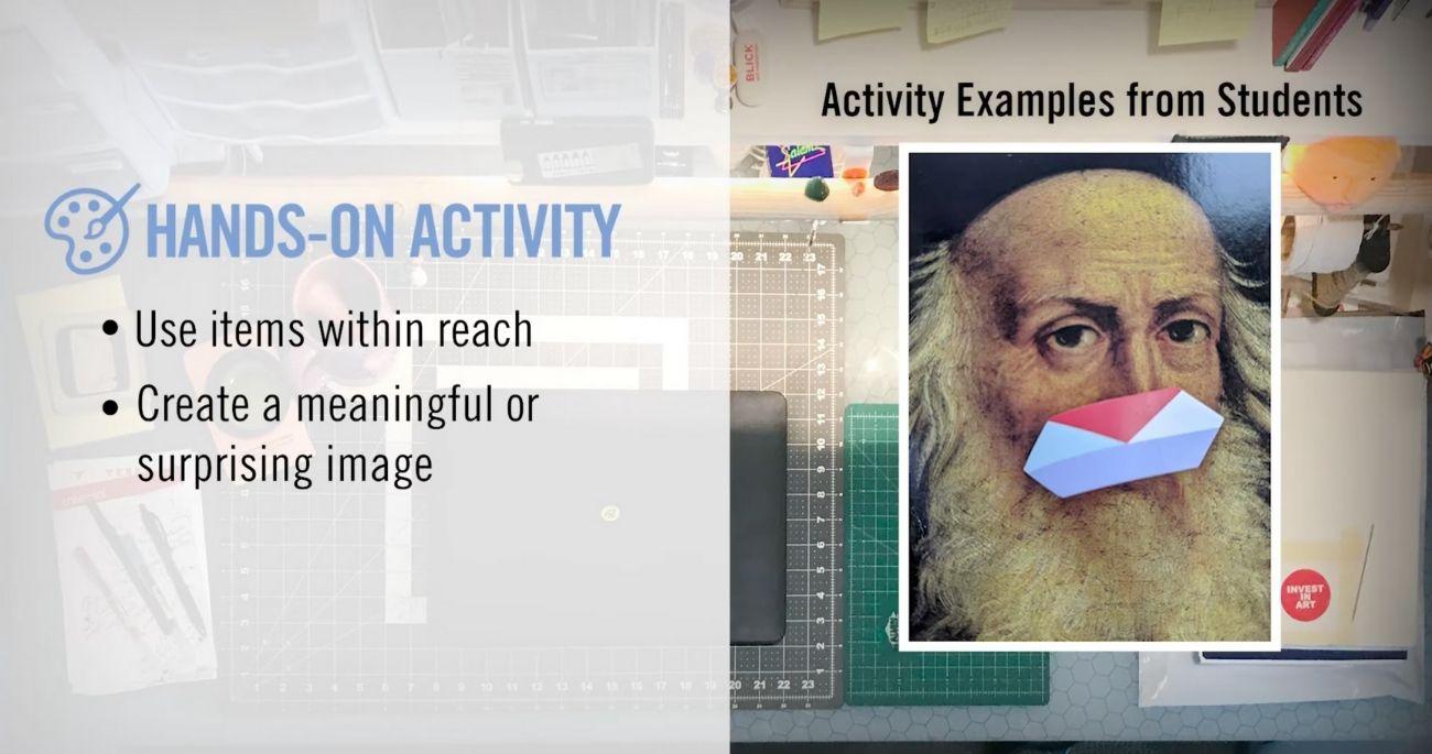 Screenshot of university education resource video